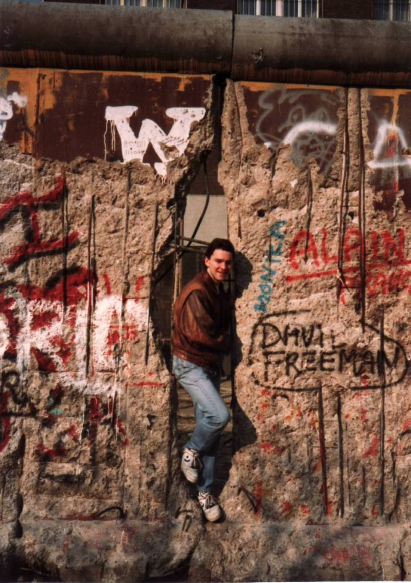Berlin Wall Crack