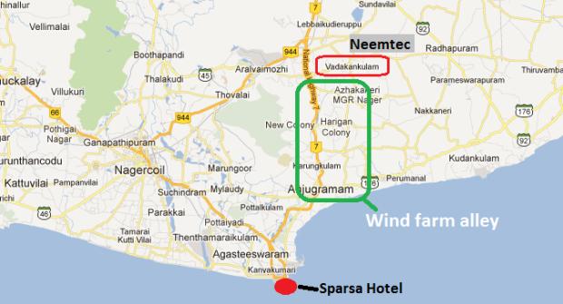 Map to Neemtek