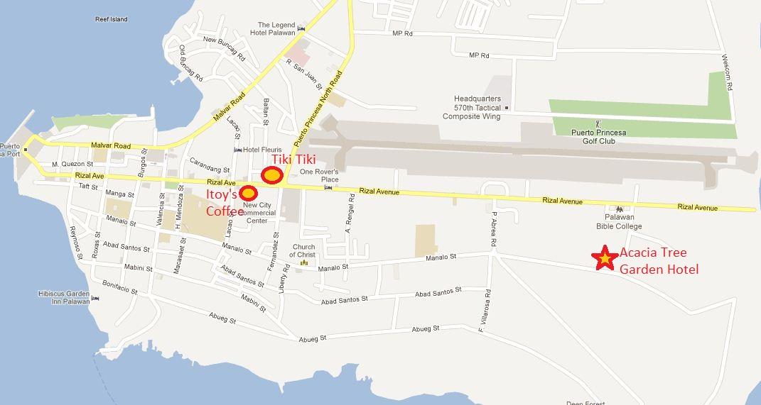 Palawan Hotels Part 1 The Acacia Tree Garden in Puerto Princesa