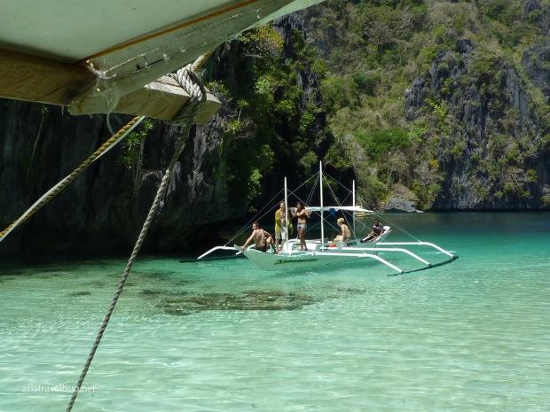 Another group sailing through Big Lagoon