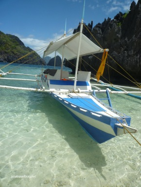 A typical outrigger