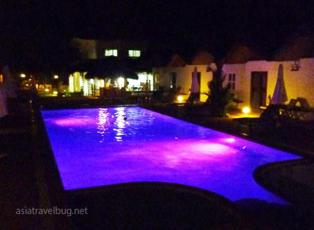 Really perfect for a late-night swim