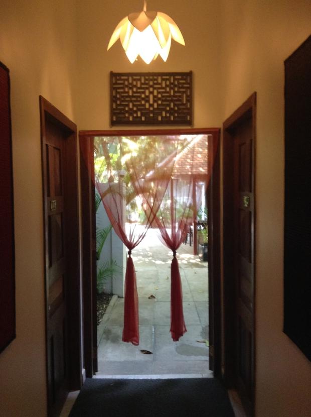 Hallway Blue Lime Hotel