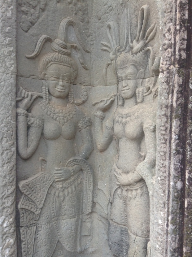 Apsara pair Angkor Wat