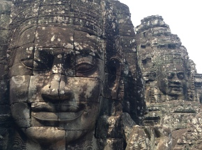 Bayon is best up close and personal