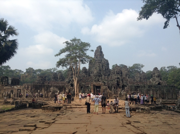 Bayon from a distance