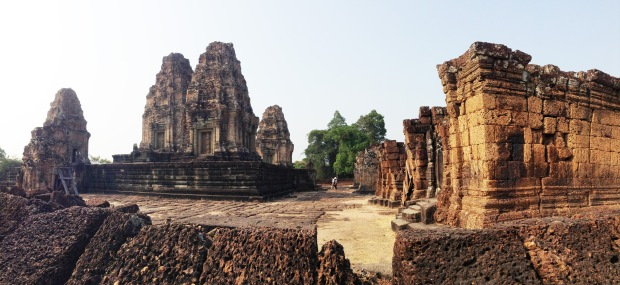 East Mebon has a great feeling in the afternoon light