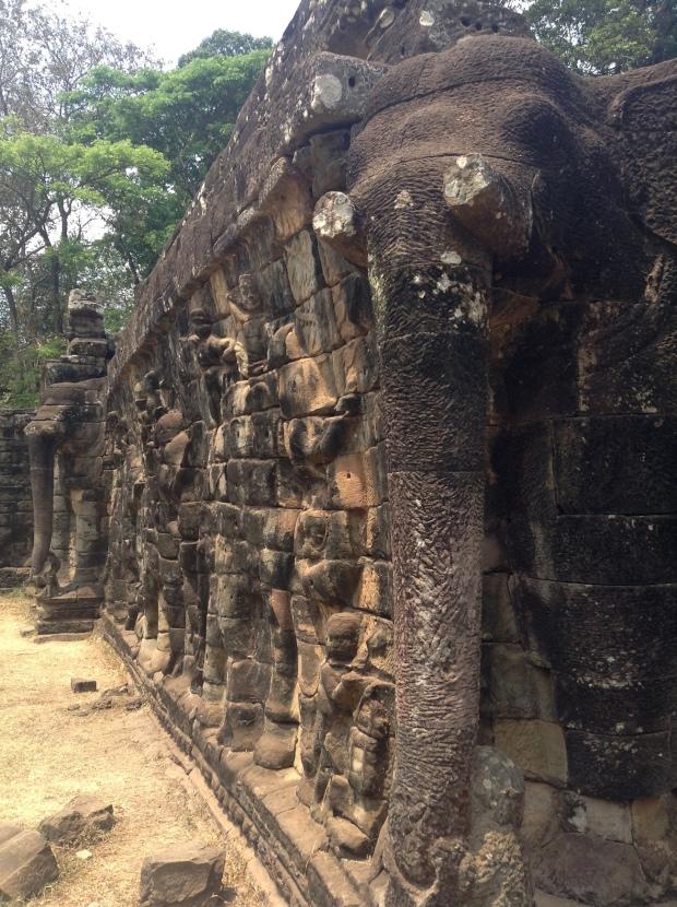 Elephant Terrace-Angkor Thom